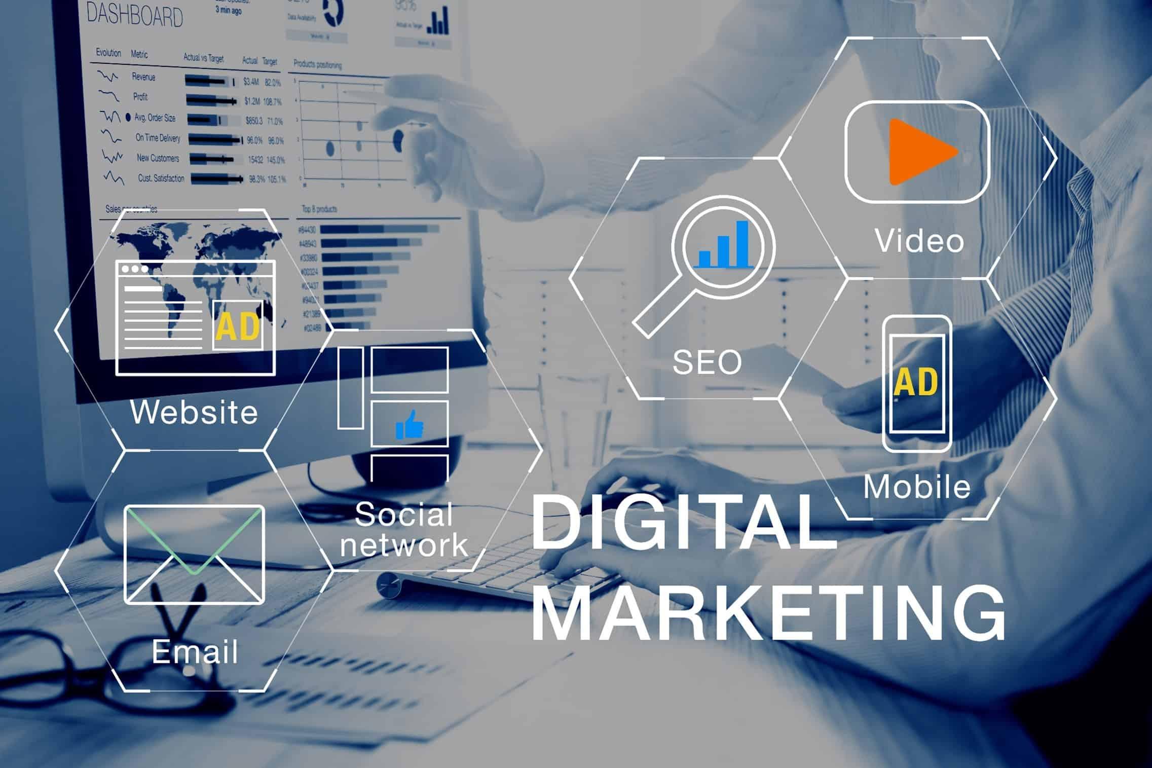 Digital Marketing Skills Needed Today Graphic